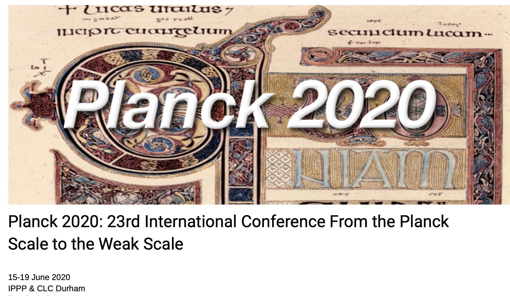 Planck 2020