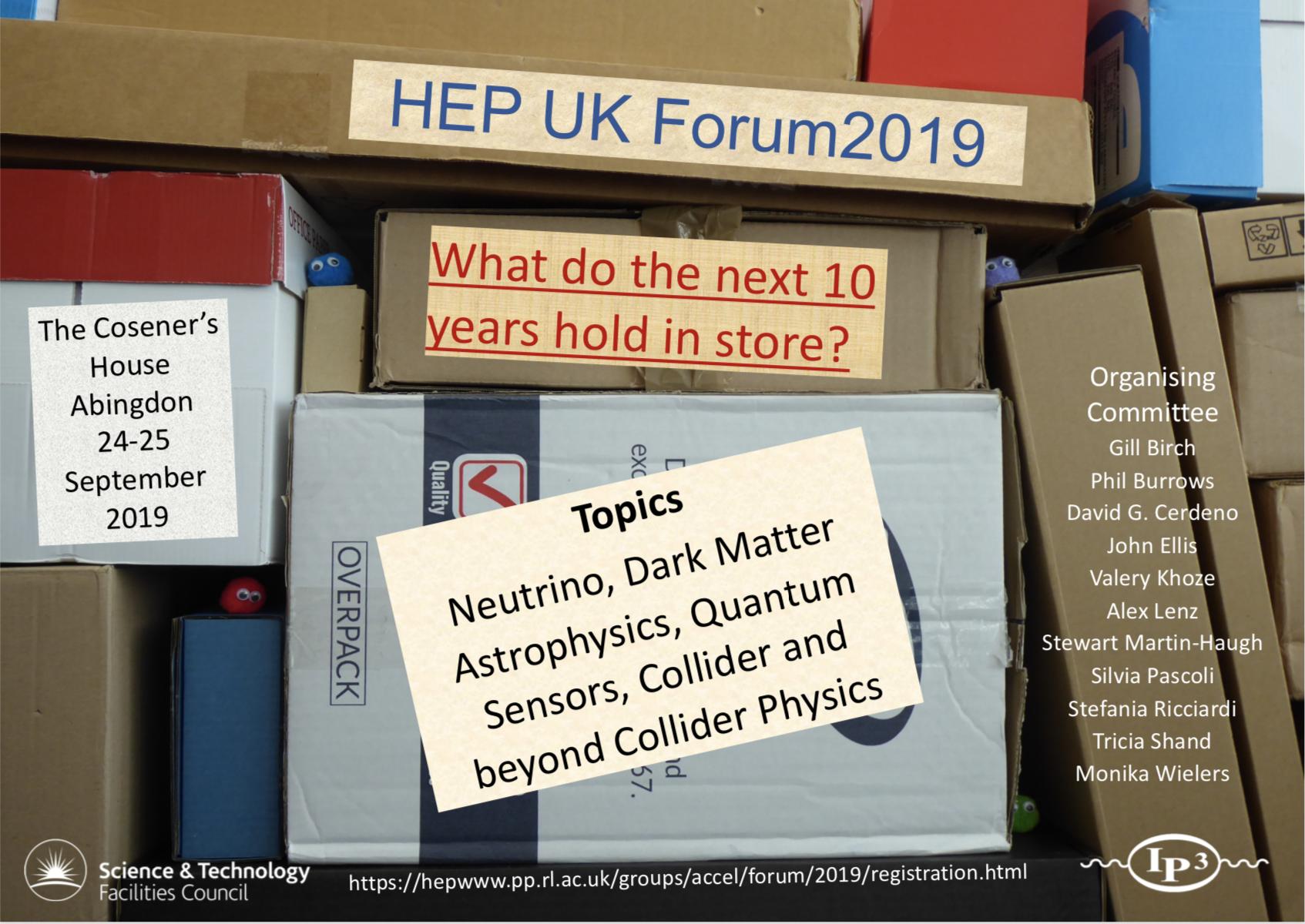 UK HEP Forum 2019