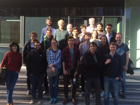 The Durham CDT for Data-Intensive Science (DDIS) students